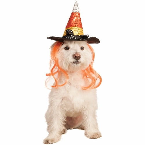Candy Corn Pet Hat Costume
