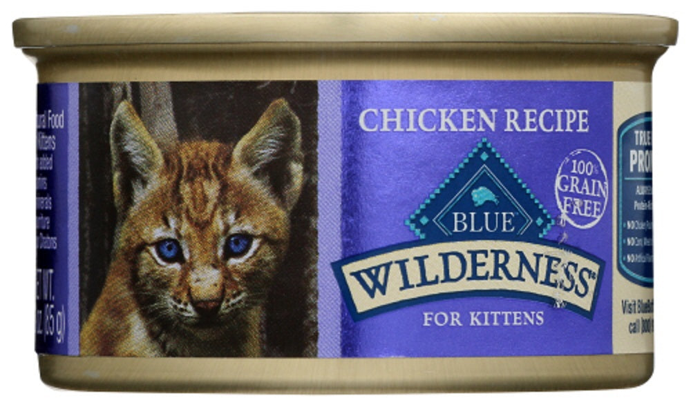 BLUE BUFFALO: Wilderness for Kittens Chicken Recipe, 3 oz