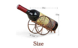 European Creative  Handmade  Wine Racks   Holder Wine Bottles Decor