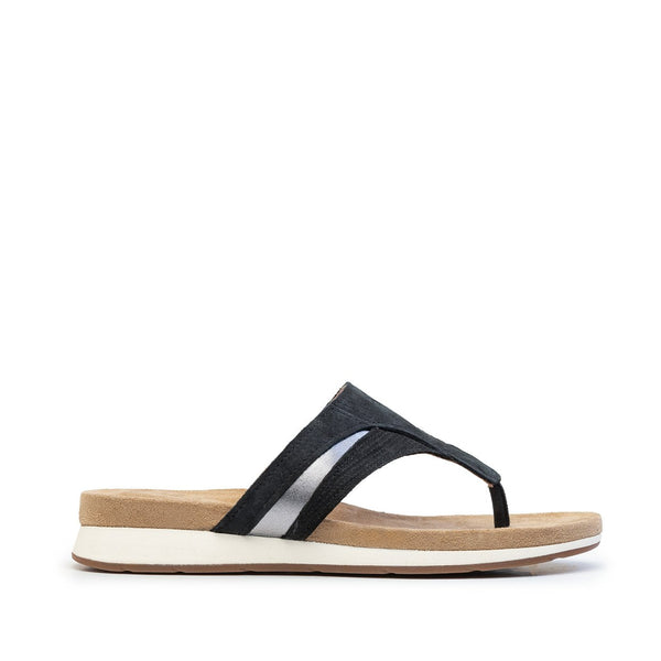 SANDALIA BODY SHOE TOE POST NEGRO