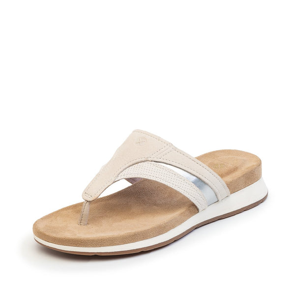 SANDALIA BODY SHOE TOE POST GRIS