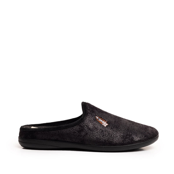 ADRIEL DOG SLIPPERS BLACK