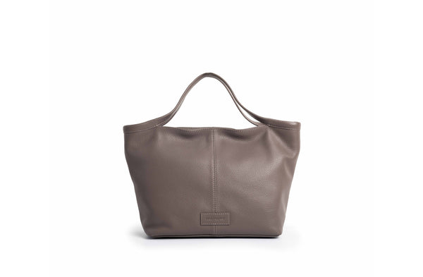 "BOLSO DE MANO ""CITY BAG"" TAUPE"