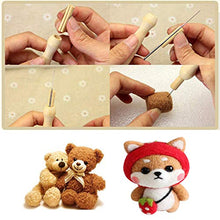 Load image into Gallery viewer, 30 Pcs Needle Felting Kit, Wool Felting Needles Tool, Needle Felting Supplies, Wool Felting Supplies Needle Felting Tool, 3 Sizes Felting Needles 3.58/3.39/3.07 inch