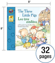 Load image into Gallery viewer, The Three Little Pigs Los Tres Cerditos Bilingual Storybook—Classic Children's Books With Illustrations for Young Readers, Keepsake Stories Collection (32 pgs)