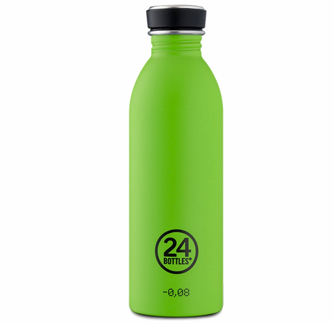 Gourde inbox urban 24 bottles coloris vert flash Lime