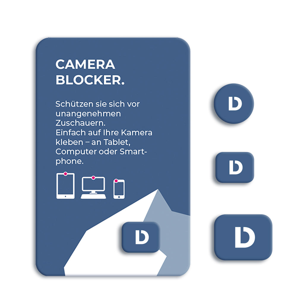 Webcam-Blocker - Für Smartphones, Tablets und Laptops