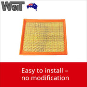 2 x Air Filter-Cleaner Fits For Holden Commodore Sedan Wagon VT VU VX VY VZ V6 V8 BRAUMACH Auto Parts & Accessories
