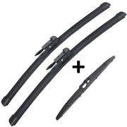 Wiper Blades Hybrid Aero For Commodore VE VF WAGON 2006-2017 FRONT + REAR