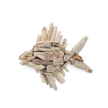 Driftwood Wall Fish - The Coast Office