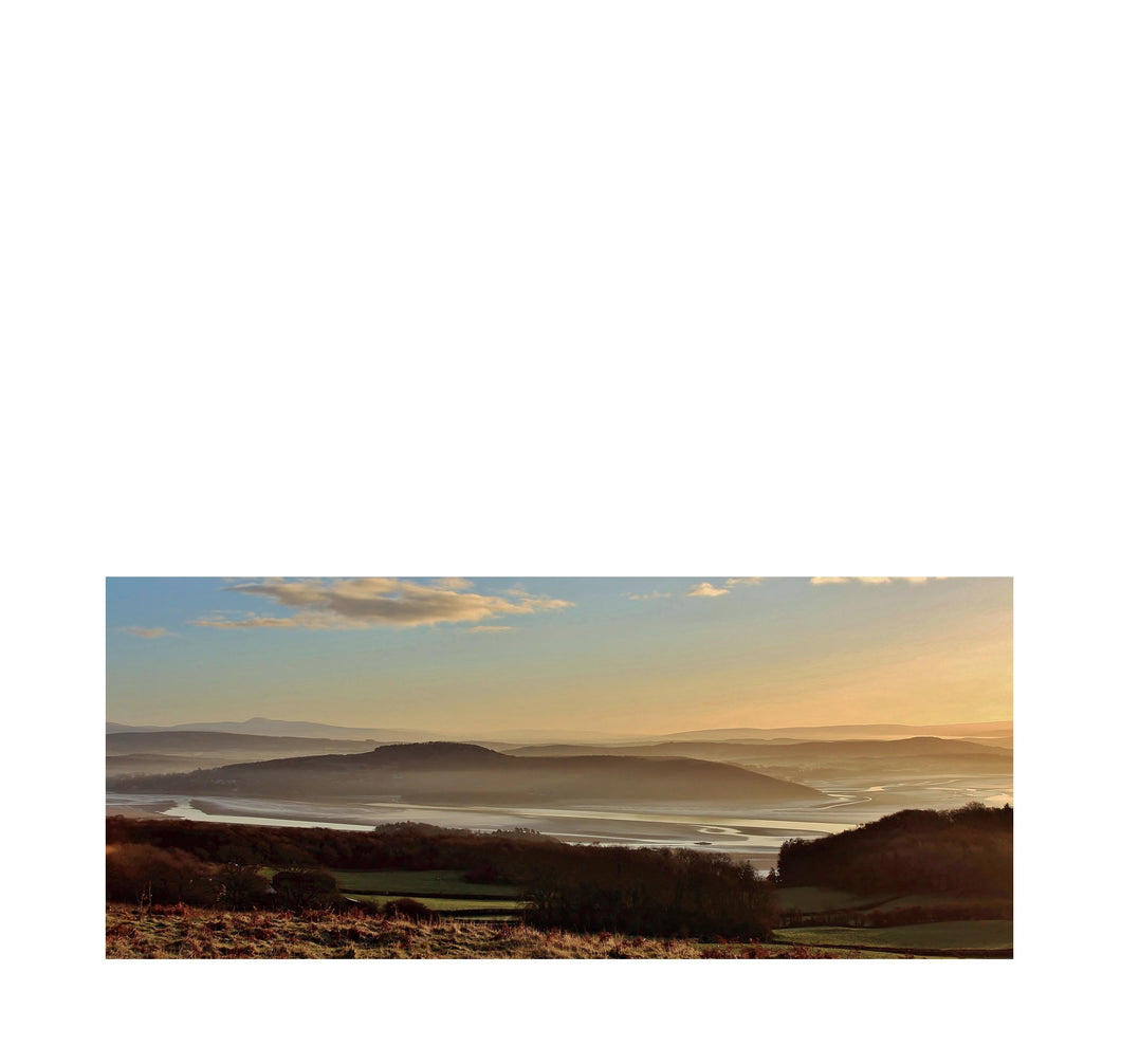 Arnside Knott from Hampsfell, Grange-over-Sands – Morning Light - Andy Mortimer Photograpic Card