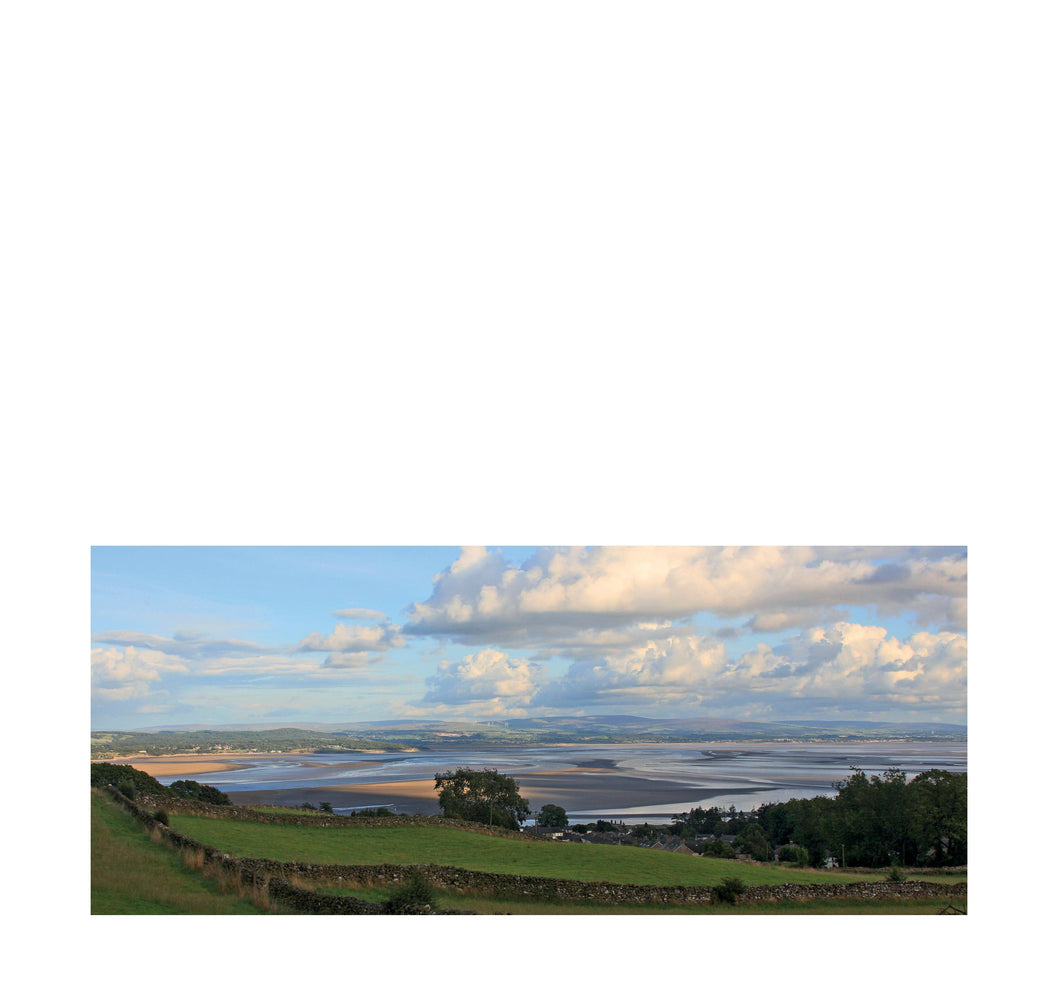 Morecambe Bay from Grange Over Sands - Andy Mortimer Photograpic Card