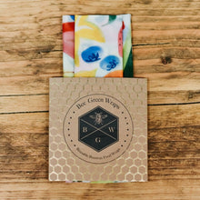 Load image into Gallery viewer, Lunch Set: Reusable Beeswax Food Wraps