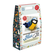 Load image into Gallery viewer, Blue Tit Needle Felting Kit - The Coast Office