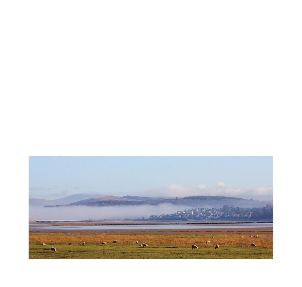 Morning mist over Arnside – Morning Light - Andy Mortimer Photograpic Card