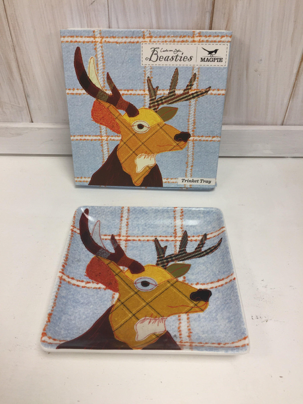 Stag Trinket Tray - The Coast Office
