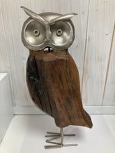 Load image into Gallery viewer, Owl: Reclaimed Wood