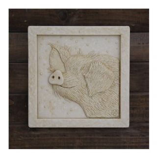 Piggy Wall Plaque