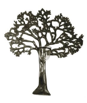 Large Wall Tree of Life Candle Holder