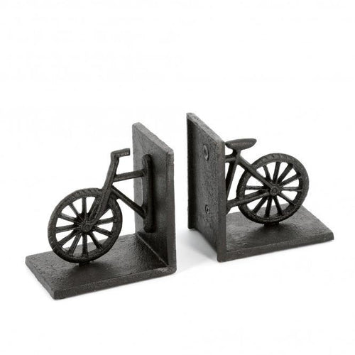 Cast Iron Bicycle Bookends - The Coast Office