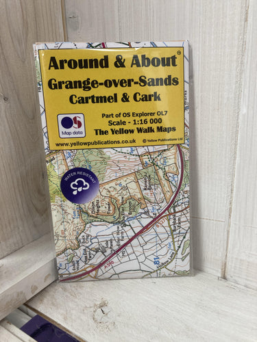 Around and About Grange over Sands, Cartmel and Cark Walking Map - The Coast Office