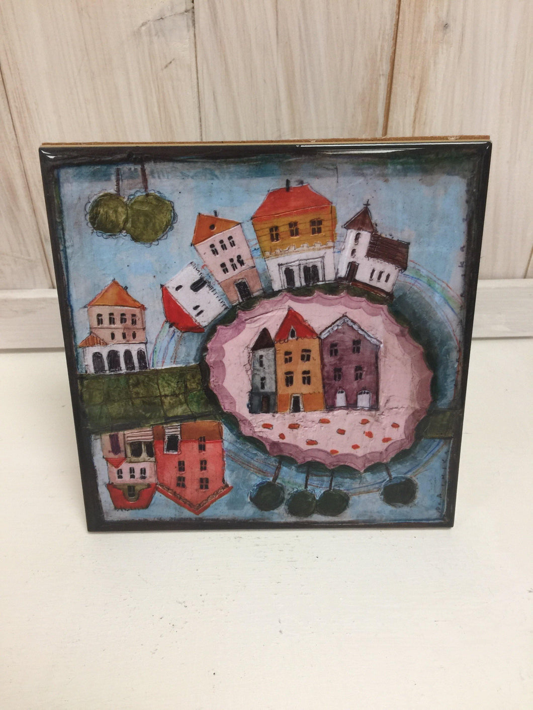 Houses: Ceramic Tile - The Coast Office