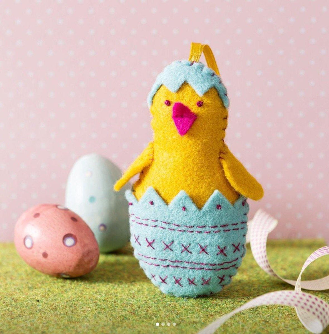Felt Craft Kit by Corinne Lapierre: Chick in Egg - The Coast Office