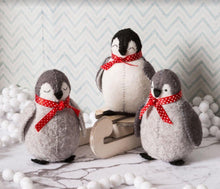Load image into Gallery viewer, Felt Craft Kit by Corinne Lapierre:  Baby Penguins - The Coast Office
