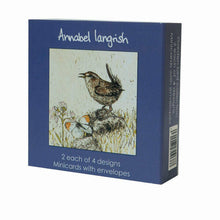 Load image into Gallery viewer, Boxset Minicards: Garden Birds