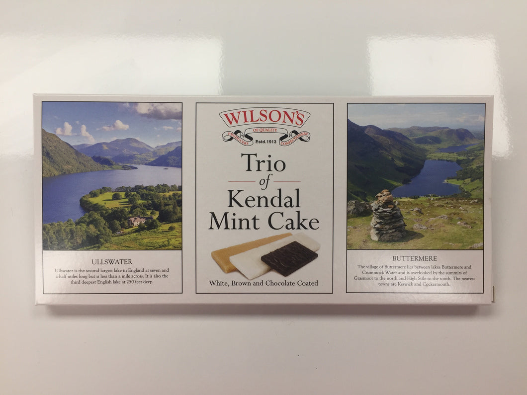 Trio of Kendal Mint Cake