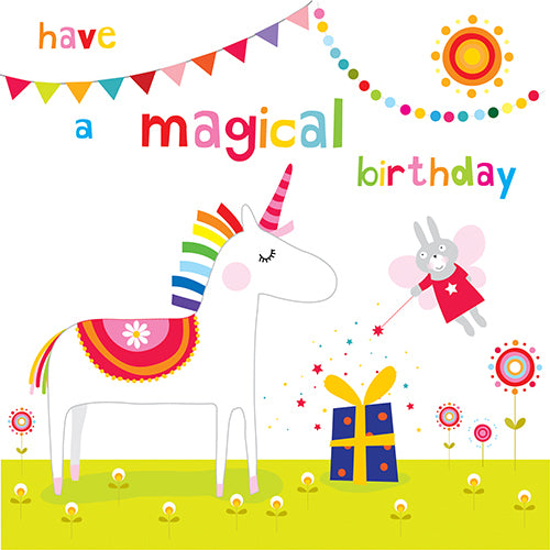Have a Magical Birthday: Unicorn