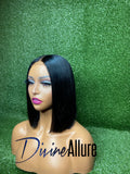 "Tina 10"" Pre-Made Straight Bob Unit"