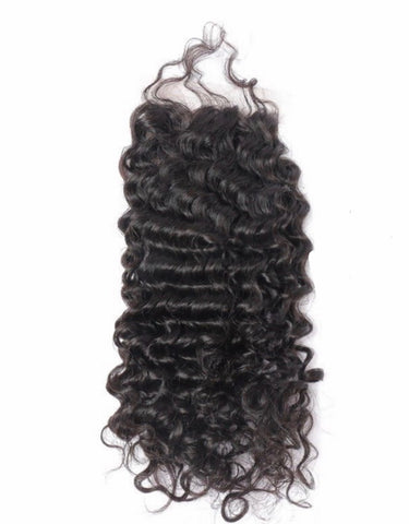 Brazilian Blue Label Deep Wave Closure 12-20""