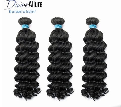 Brazilian Blue Label Deep Wave 12-40""