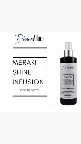 Meraki Shine Infusion Spray
