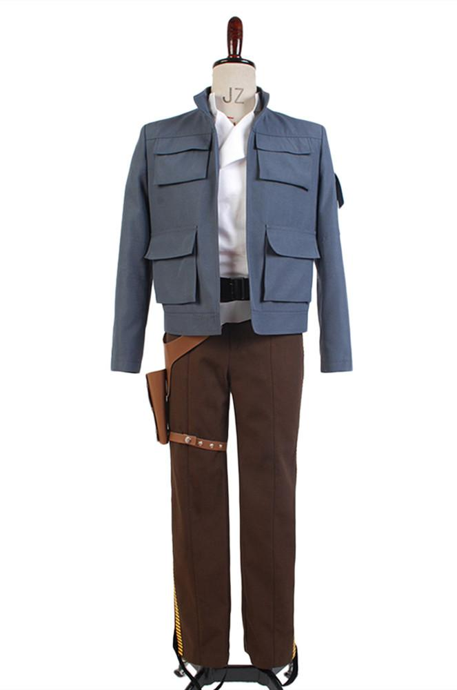Star Wars Empire Strikes Back Han Solo Jacket Pants Cosplay Costume