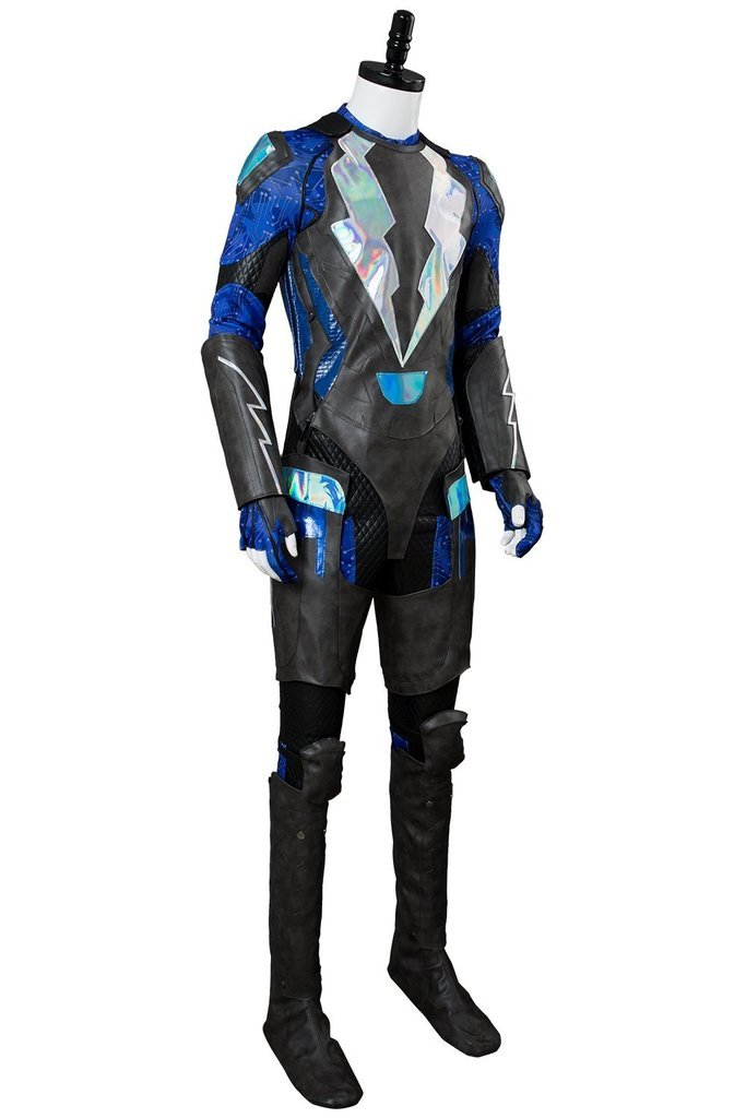 Black Lightning Jefferson Pierce Outfit Cosplay Costume