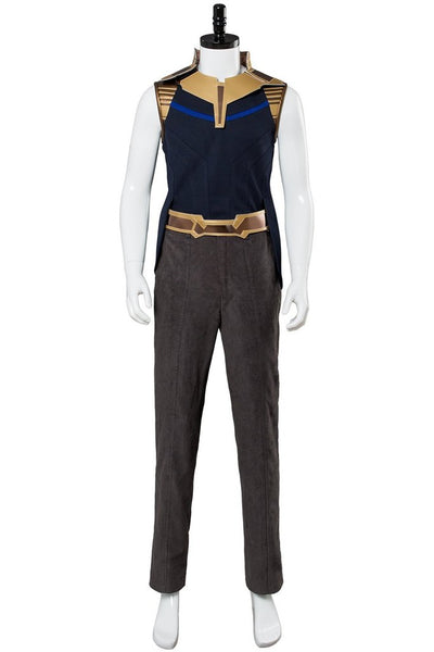 Marvel Avengers Infinity War Thanos Outfit Cosplay Costume