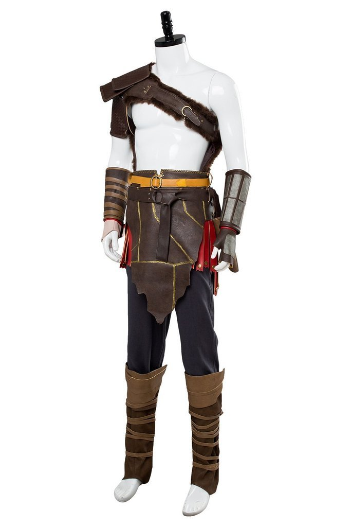 God Of War Kratos Outfit Spartan Suit Cosplay Costume