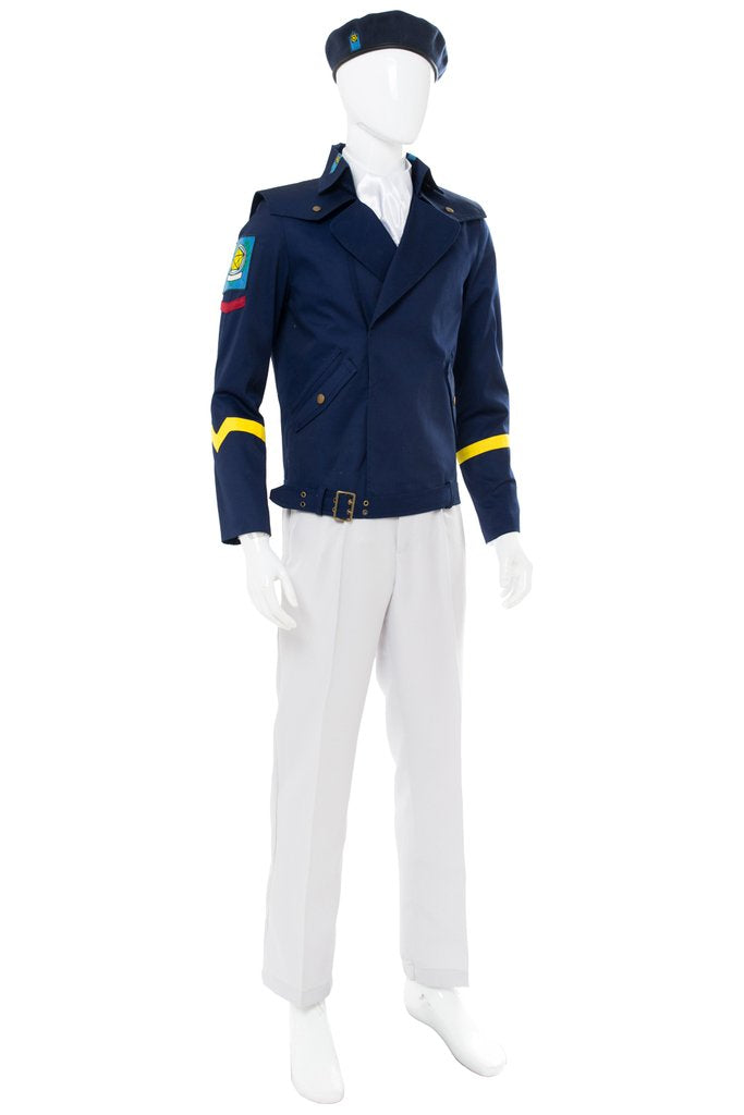 Legend Of The Galactic Heroes Die Neue These Yang Wen Li Cosplay Costume