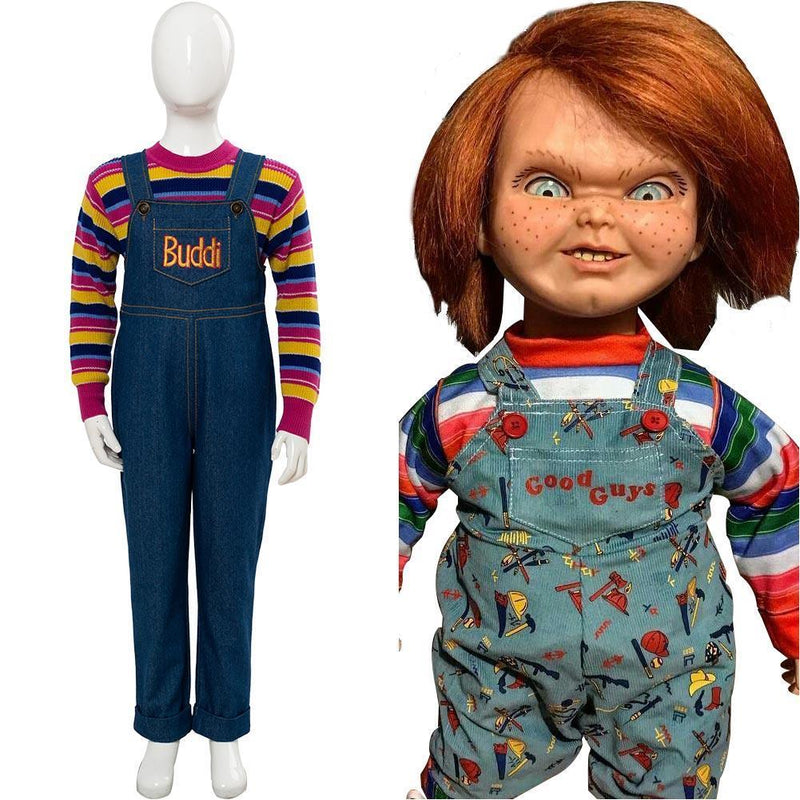 Child S Play  Chucky Cosplay Costume