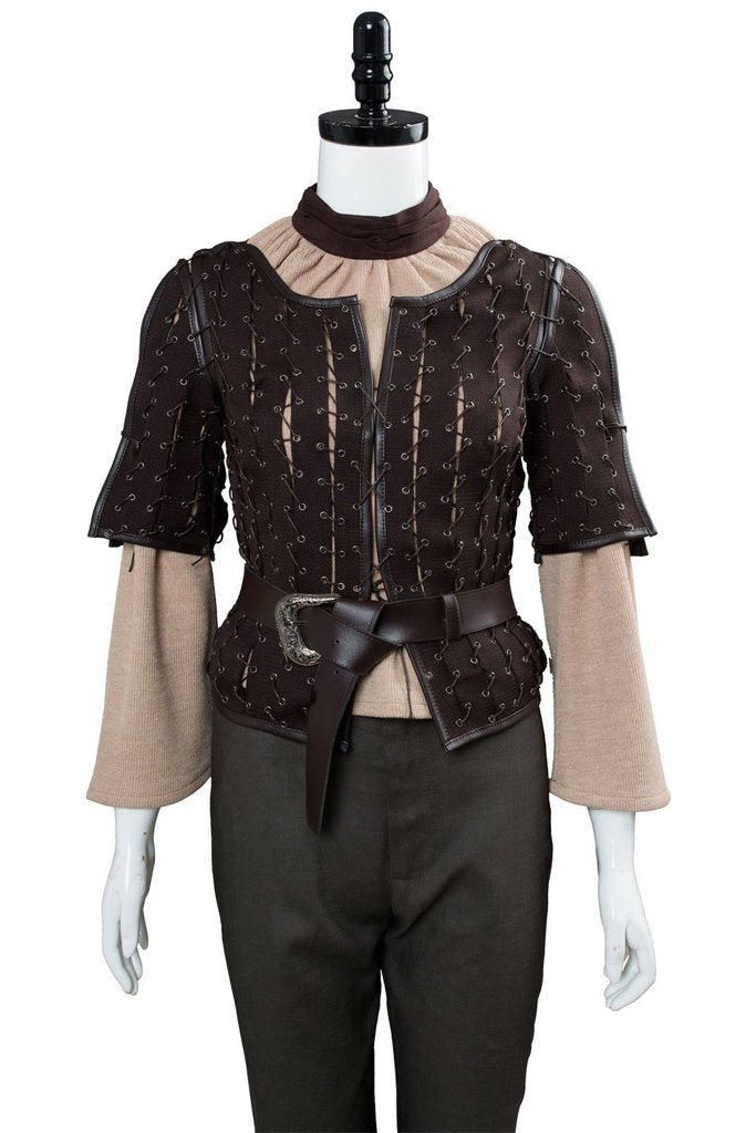 Got Game Of Thrones Game Arya Stark Outfit Cosplay Costume
