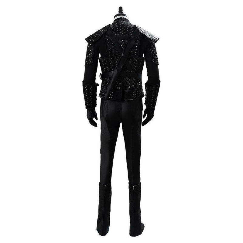 Costume The Witcher Cavill Geralt Uniform Tv Show Cosplay Costume