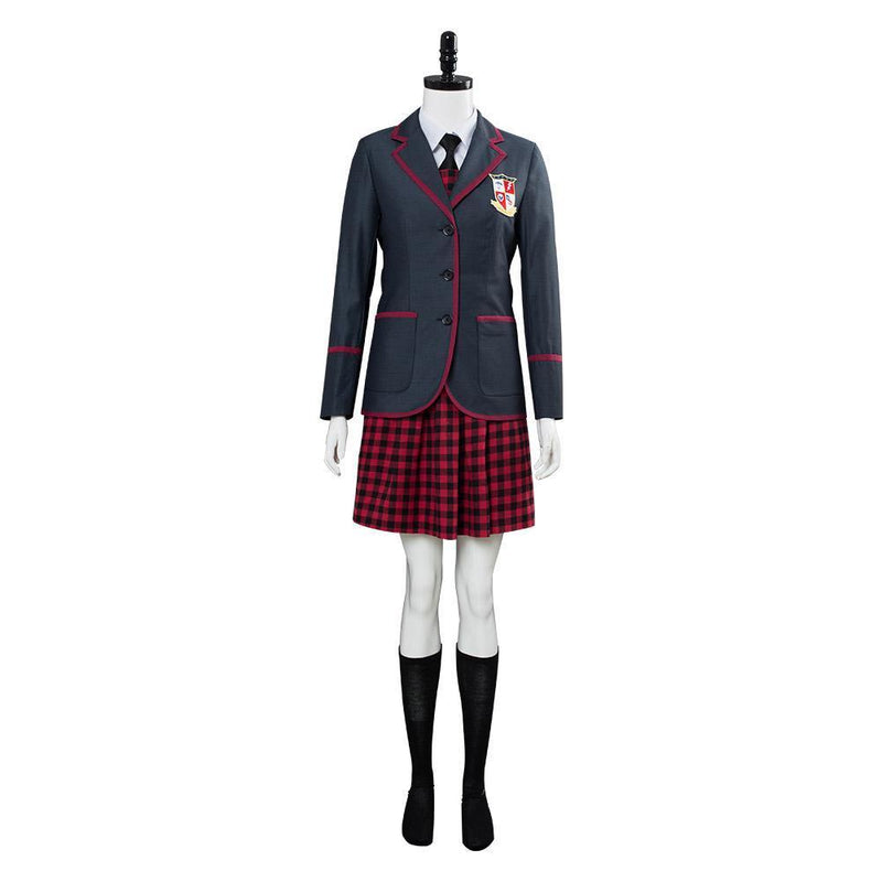 The Umbrella Academy School Uniform Women Cosplay Costume