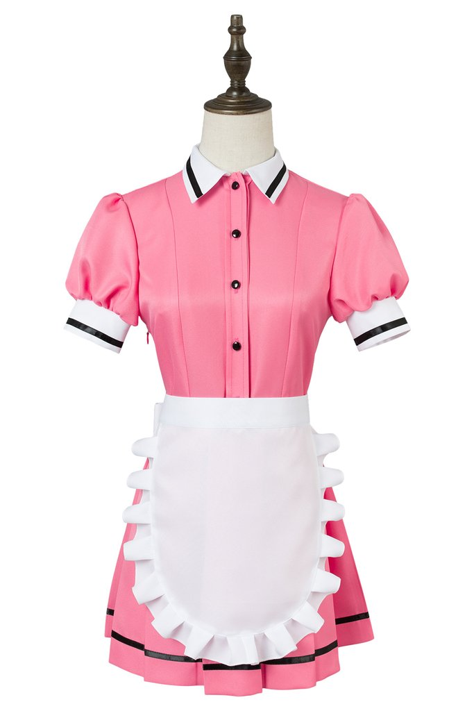 Blend S Maika Sakuranomiya Maid Dress Cosplay Costume