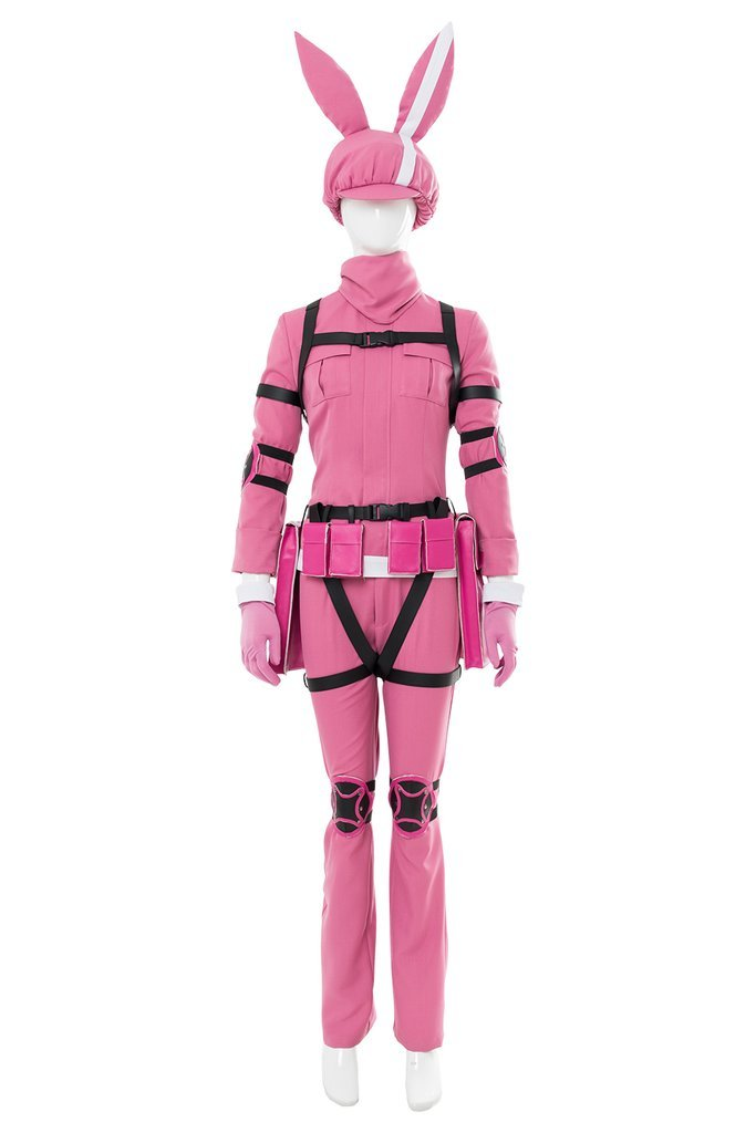Sword Art Online Alternative Gun Gale Online Llenn Outfit Cosplay Costume