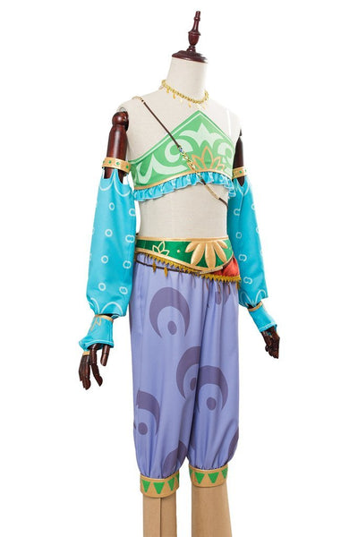 The Legend Of Zelda Breath Of The Wild Link Outfit Cosplay Costume For Females Women