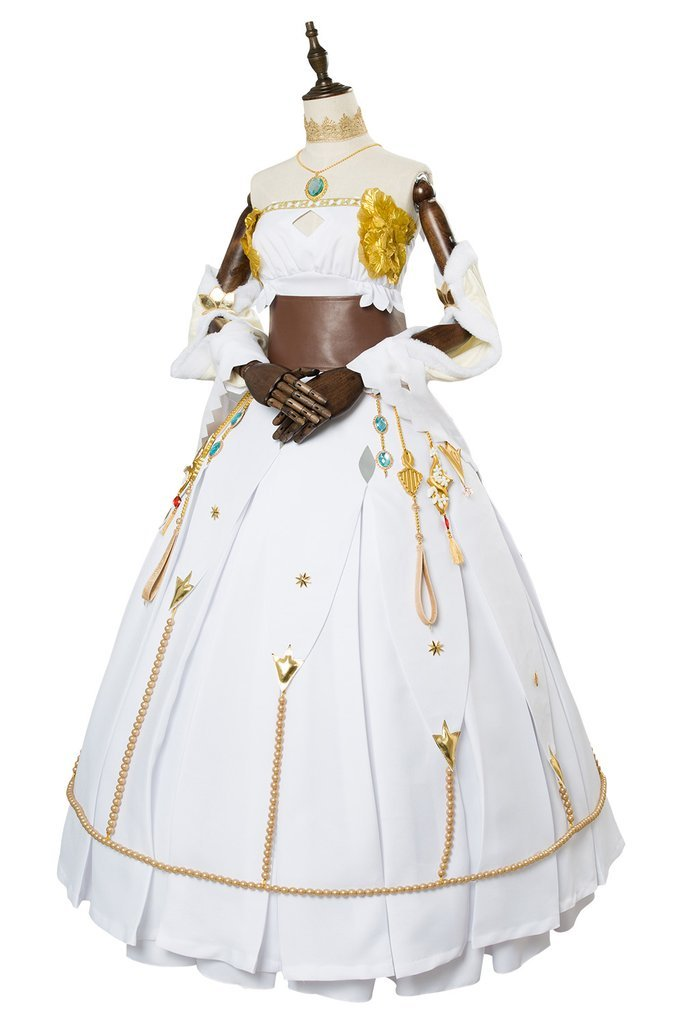 Fate Grand Order Anime FGO Fate Go Cosmos In The Lostbelt Anastasia Dress Outfit Cosplay Costume