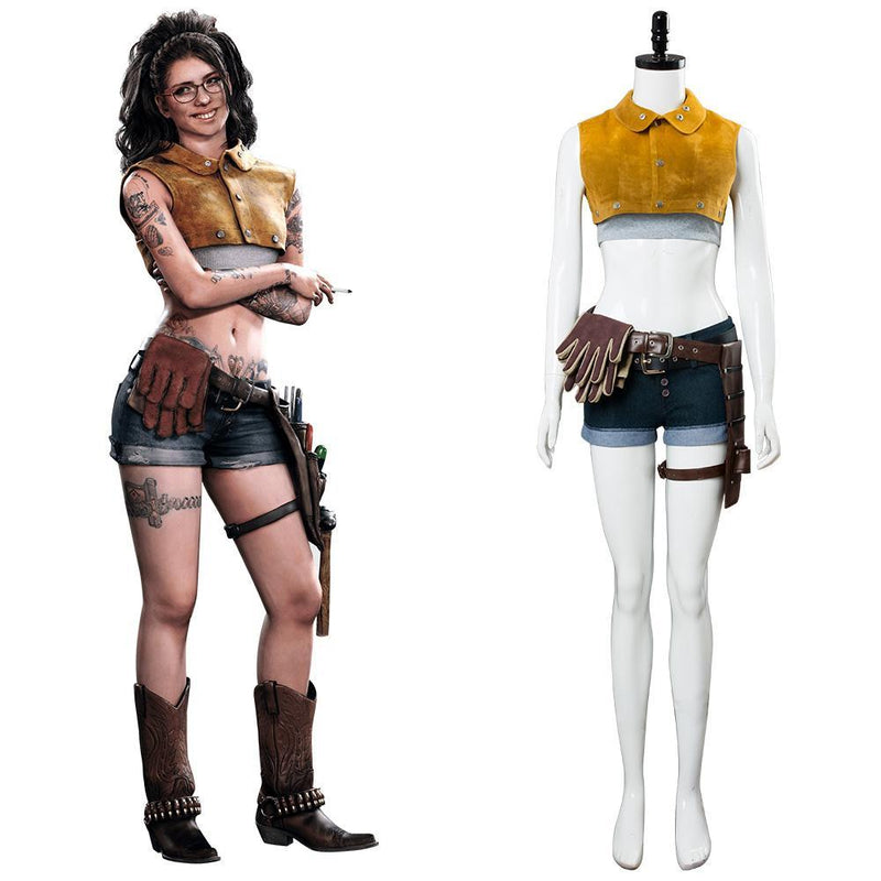 Dmc Devil May Cry 5 Nico Cosplay Costume Video Game Female Outfit