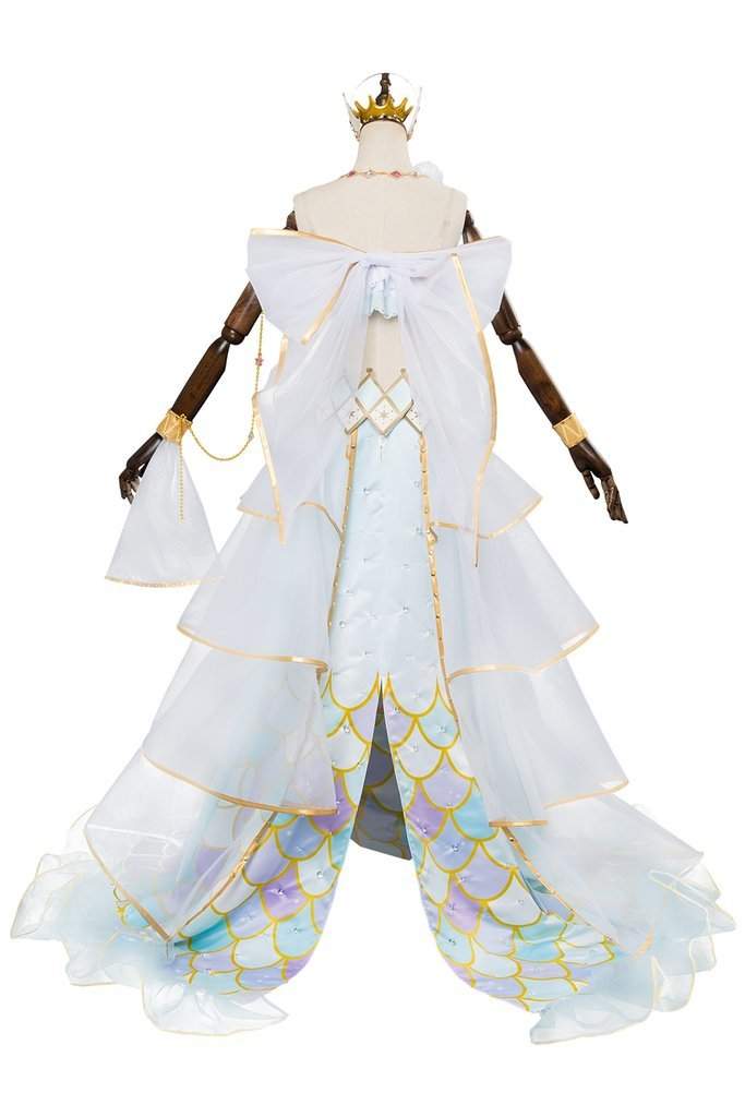 Lovelive Mermaid Festa Tsushima Yoshiko Cosplay Costume Awakening Dress